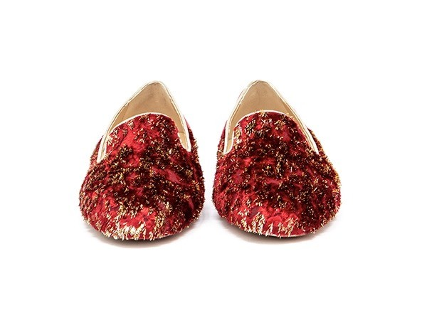 W2.TW Red diamond adorote slippers1