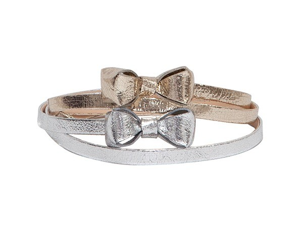 3DBOW SILVER PLATINUM BELTS ADOROTE